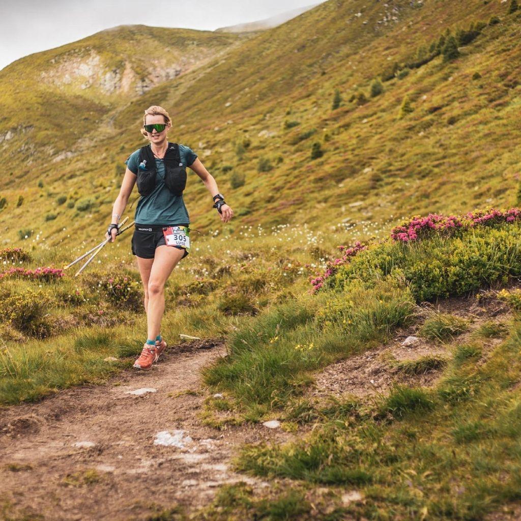 Luise  bei den Salomon 4 Trails